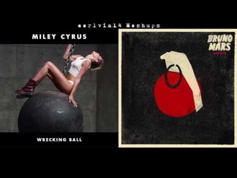 Wrecking Ball vs. Grenade (Mashup) [RE-UP] - Miley Cyrus & Bruno Mars - earlvin14 (OFFICIAL)