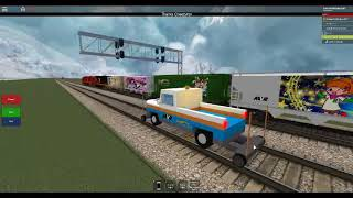 ROBLOX Chasing AWVR 777 & 767 with a Hi-Railer (Remastered)