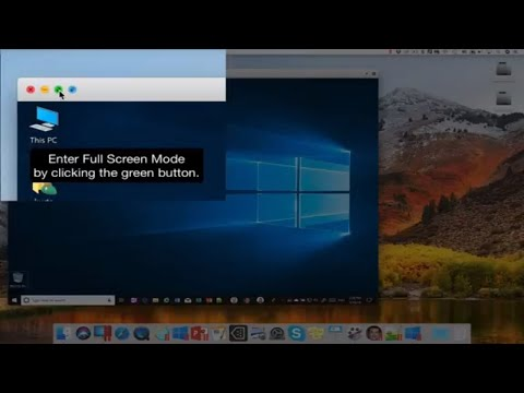 Full Screen Mode [Parallels Desktop] How To Switch Between Mac And Windows
