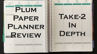 Plum Paper Planner & Notebook Review (take 2) -10% OFF first order!