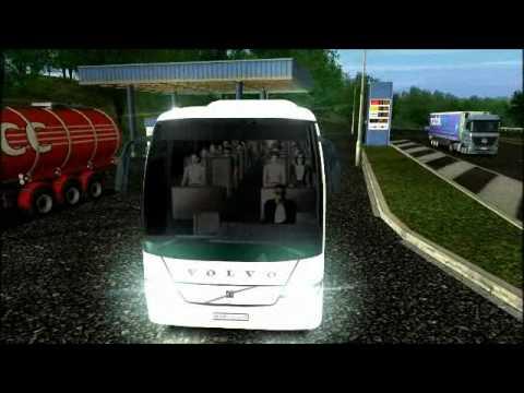 euro truck simulator eurolines bus