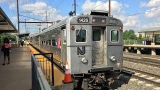 Amtrak & NJ Transit HD 60fps: Morning Northeast Corridor High Speed Trains & Arrow III MUs @ Edison