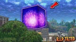 NEW EVIDENCE tells us the Cube is headed for Tilted Towers! (The Cube DESTROYS Tilted towers!)