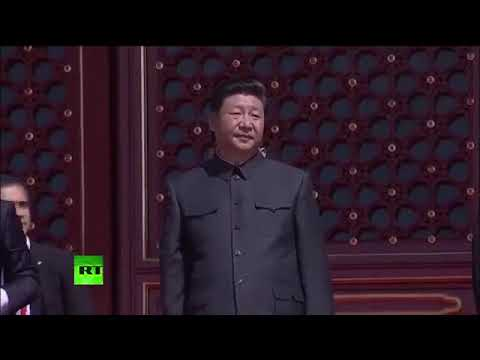 China's V Day military parade in Beijing 2015   YouTube