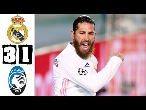 🔥 Реал Мадрид - Аталанта 3-1 - Обзор Матча 1/8 Финала Лиги Чемпионов 16/03/2021 HD 🔥