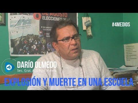 """Explosión fatal en la escuela de Moreno: """"Esto le está ocurriendo a los que menos tienen como consecuencia del ajuste"""""""