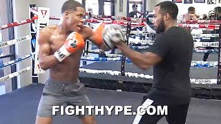 "DEVIN HANEY ""SUPERMAN SPEED"" LIGHTS UP MITTS LIKE A MACHINE GUN; FIRING ON ALL CYLINDERS FOR GAMBOA"