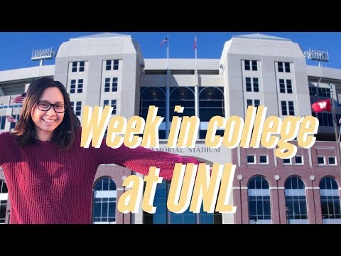 Week in college/UNL