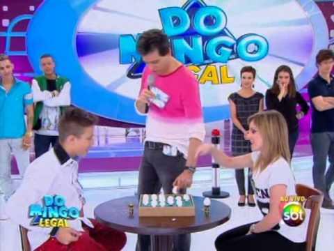 Domingo Legal (22/12/13) - Funkeiros e elenco de Chiquititas brincam - Parte 3