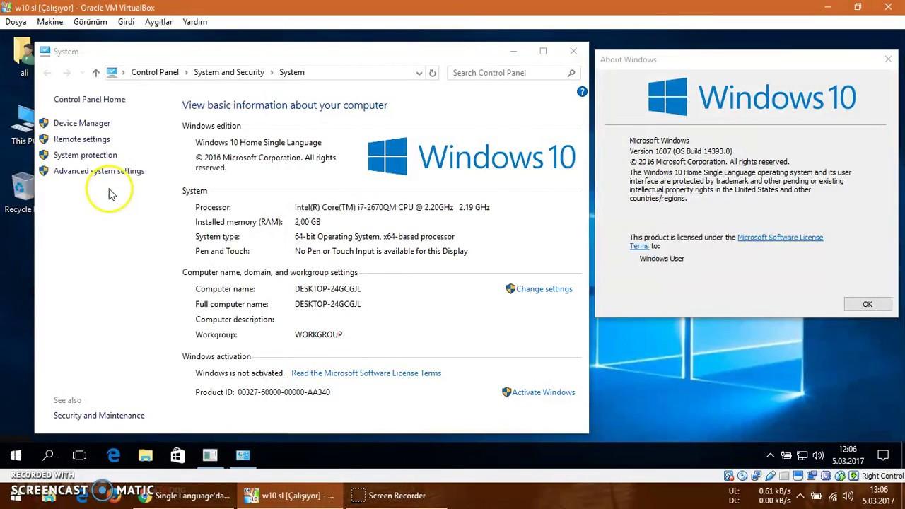 what is windows 10 single language