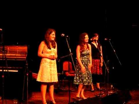 Rachel Unthank & The Winterset play -- On A Monday Morning -- at the Playhouse 2 Theatre