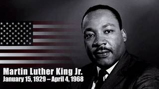 Martin luther king jr. day tribute