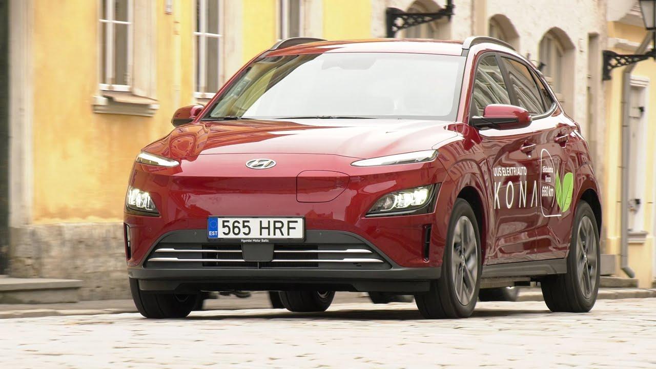 Hyundai Kona electric - auto24.ee proovisõit