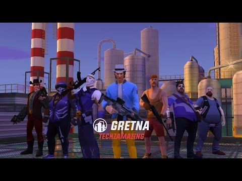 Gangstar New Orleans - GRETNA TURF Raid - GAMEPLAY