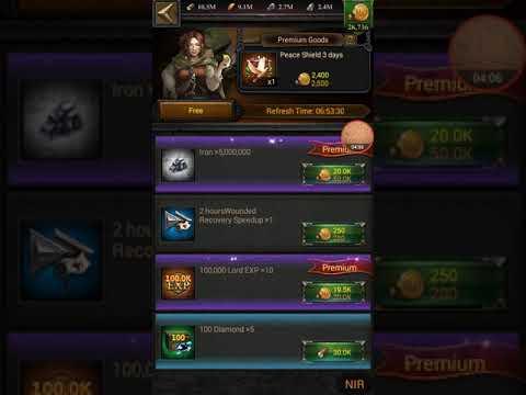 Clash Of Kings - GET 100 Prestige Badges Daily - NIR Gaming