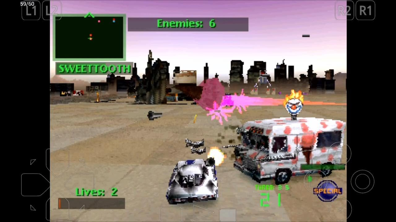Epsxe Emulator 1 9 15 For Android Twisted Metal 2 720p