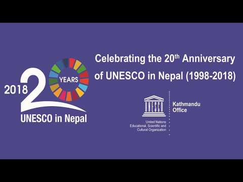 20th Anniversary of UNESCO in Nepal, some highlights of the Office's achievement