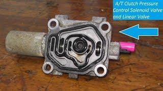 Clutch Pressure Control Solenoid Valve Testing and Replacement P0746 P0747 P0776 P0777 P0962 P0963