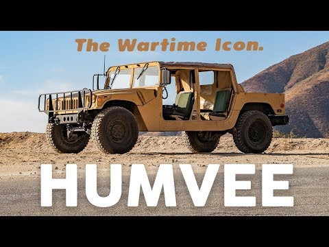 Built For War: History of The M998 Humvee!