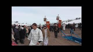 Сосновка Крещение Кыргызстан.  2018г.