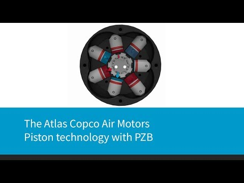 The Atlas Copco Air Motors - piston technology with PZB