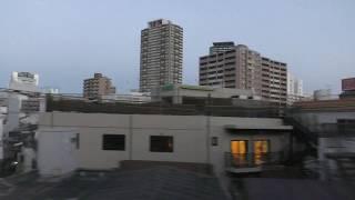 関空特急はるかの車窓動画(20180112) *日の出が見えます