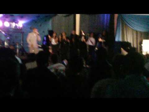 Takie Ndou sings Ria Livhuwa in East Lynne Hall Pretoria