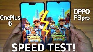 OPPO F9 PRO vs ONEPLUS 6 - Speed Test & RAM Management! [6GB] 🔥🔥🔥