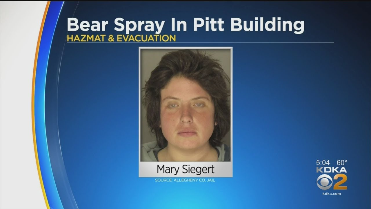 White Woman Accused Of Releasing Bear Spray In Pitt Building, Sickening 6 People