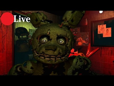 Five Night At Freddy's 3 - Android - Demo (EN DIRECTO)
