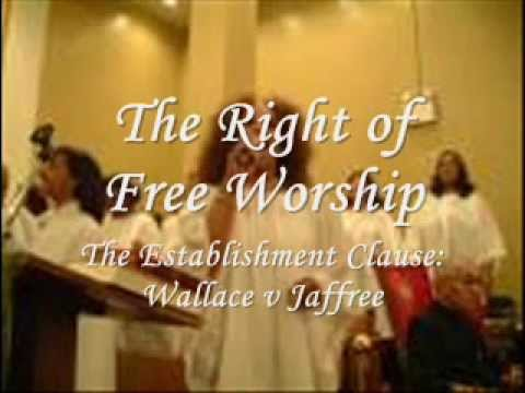 jaffree v wallace supreme court case analysis