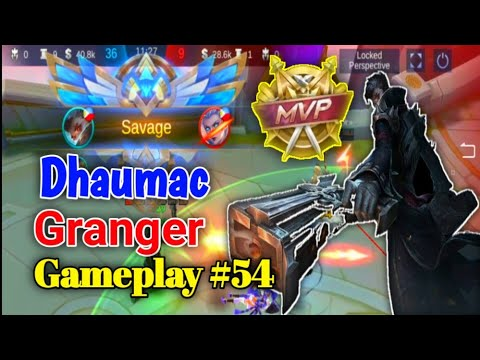 MY GRANGER GOT SAVAGE AND MBP IN RANKED MATCHED|MLBB|Dhaumac!!