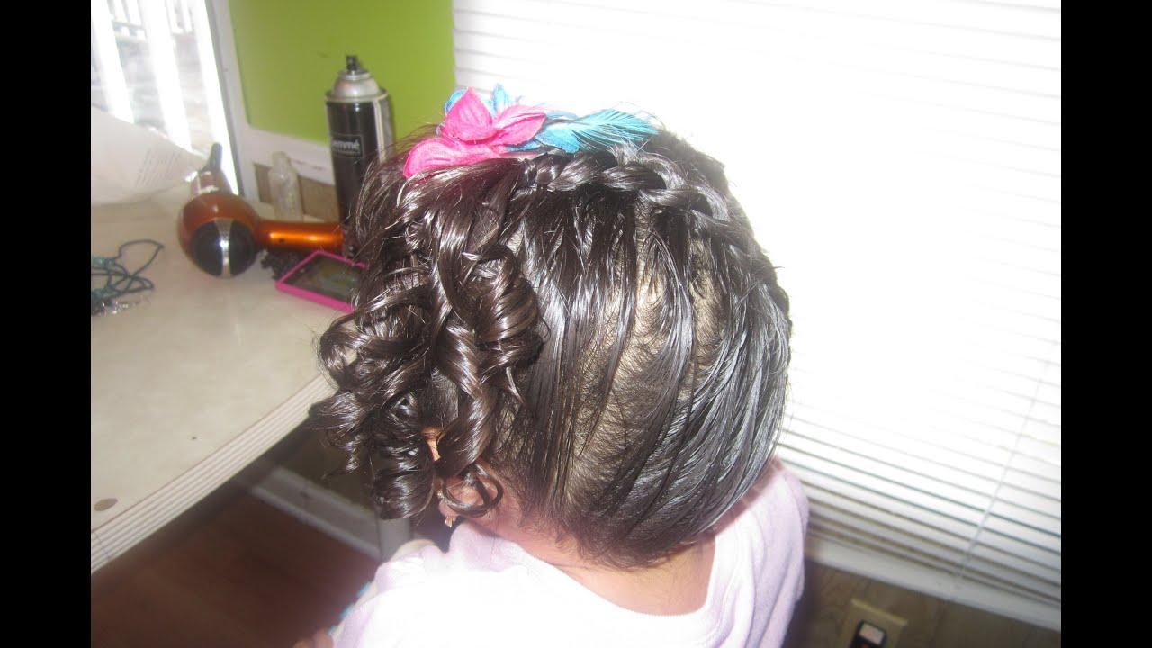 Peinados sencillos para ninas como hacer rizos a una nina - Peinados bonitos para ninas ...
