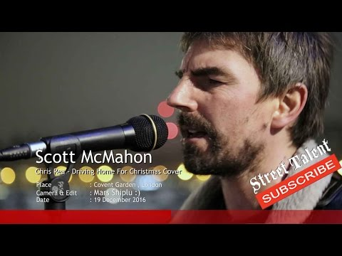 Driving home for christmas Cover by Scott McMahon, Street Talent, Street Music /Busking