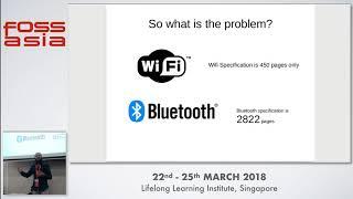 BlueBorne: Beware of Bluetooth! - Huzaifa Sidhpurwala  - FOSSASIA 2018