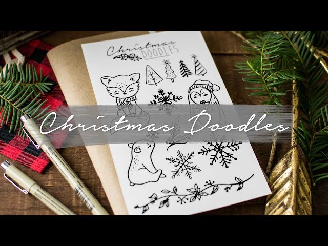 How to Draw Cute Christmas Things