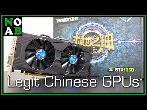 Legit Chinese Graphics Cards? Hands on with the Yeston 3GB GTX 1060