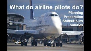 What Do Airline Pilots Do?  Commercial Pilot Life, Pilot Pay, Hours