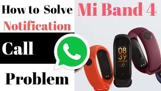 How to Solve Mi band 4 Notification Problem | Tips  | Hindi | Pratik