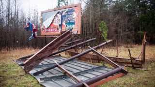 Wind Storm Damage - Wake Forest, NC January 11, 2014