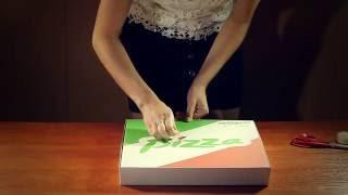 Как проверить прочность коробки для пиццы(Коробки для пиццы используется при доставке, важно, чтобы коробка могла защитить пиццу от воздействия окру..., 2016-08-26T05:22:21.000Z)