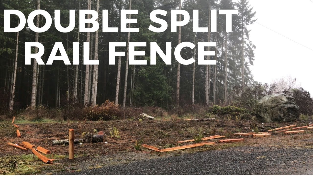 Double Split Rail Fence