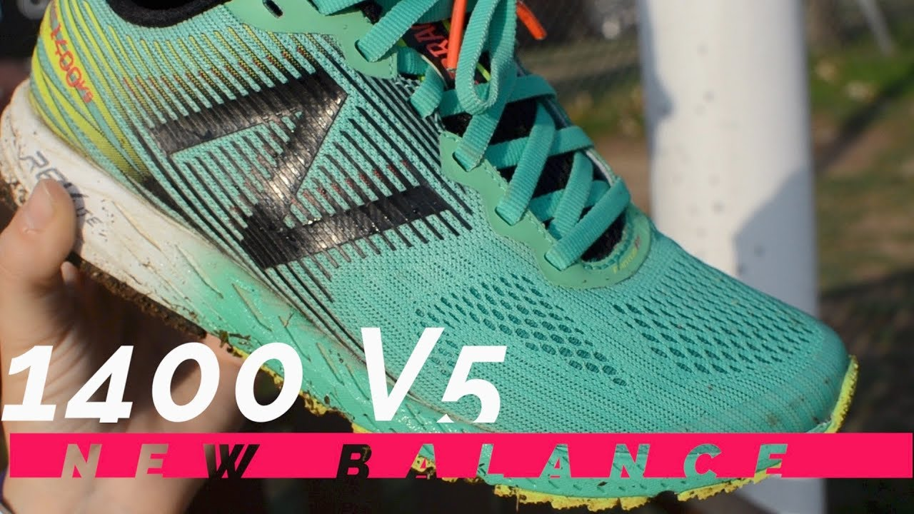 cheaper 2e59e 3216f New Balance 1400 V5 Review 2017 | New Balance FASTEST shoe