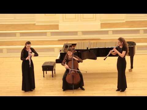 Телеман, Георг Филипп - Концерт для 2-х флейт-траверсо, гобоя, альта, струнных и b.c. си-бемоль мажор