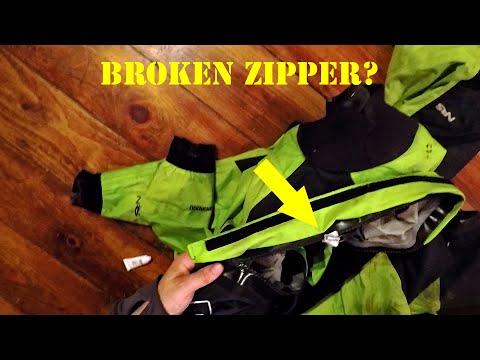 Drysuit Zipper Repair - T-Zip Zipper Fix-