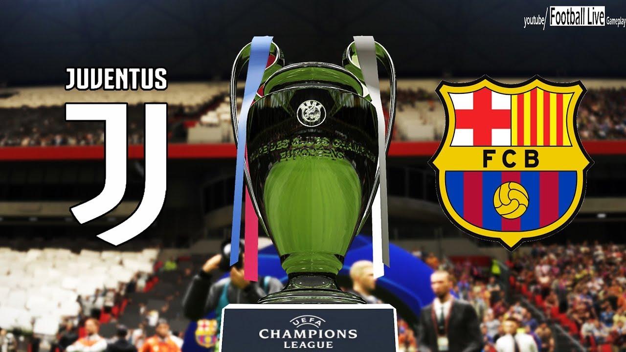 PES 2019   UEFA Champions League Final   Juventus vs Barcelona   Gameplay PC