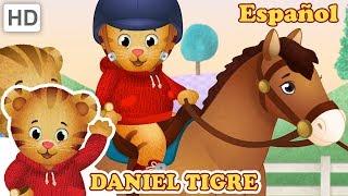 Daniel Tigre en Español 🐇 Animales en el Barrio 🦆 Videos para Niños 🐎