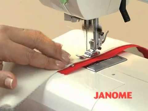 Pie ajustable con cremallera invisible para la máquina de coser Singer