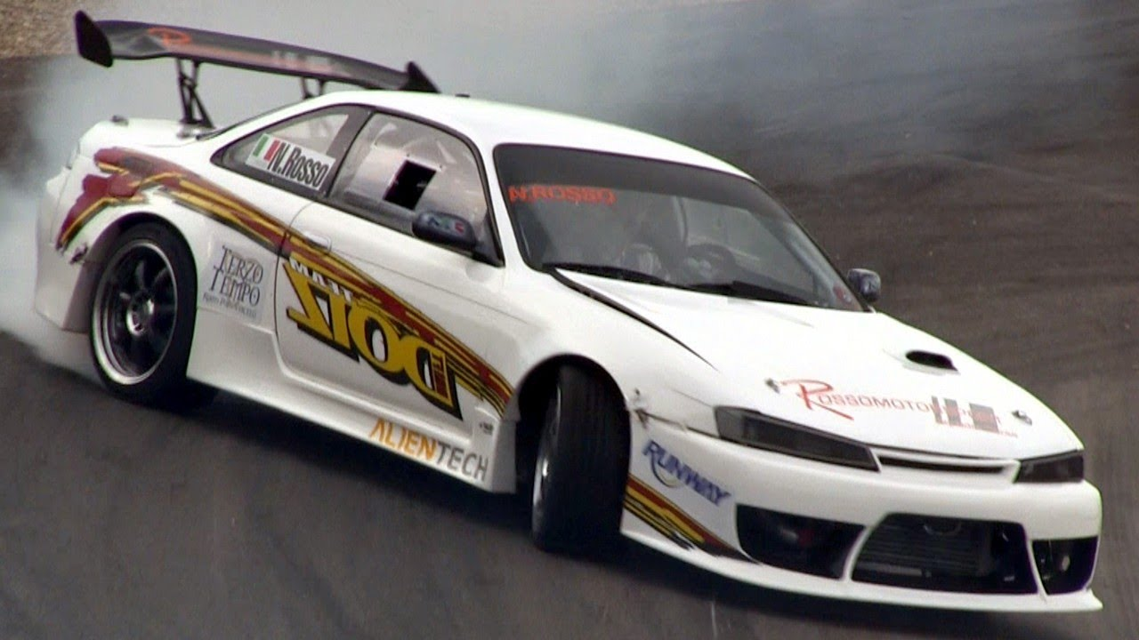 Jdm Car Wallpaper 1920x1080 Nissan Silvia S14 Drifting Saturday Night Drift Show