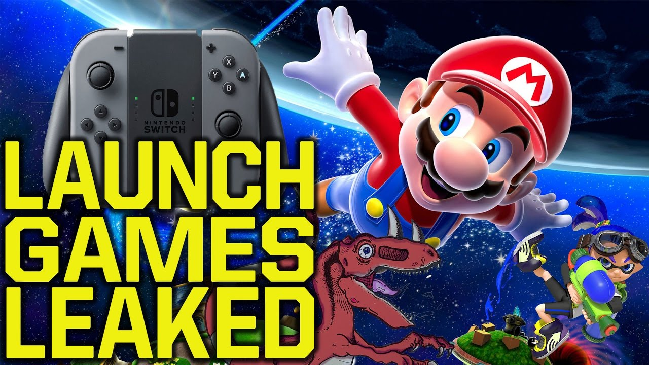 Nintendo Switch Launch Titles Leaked Is It Enough